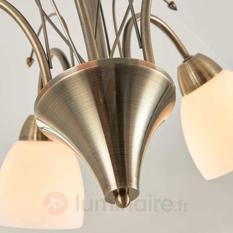 Ray - plafonnier classique à 5 lampes - Plafonniers classiques, antiques