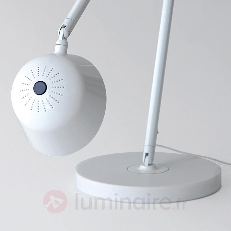 Lampe de bureau LED Baia blanche - Lampes de bureau