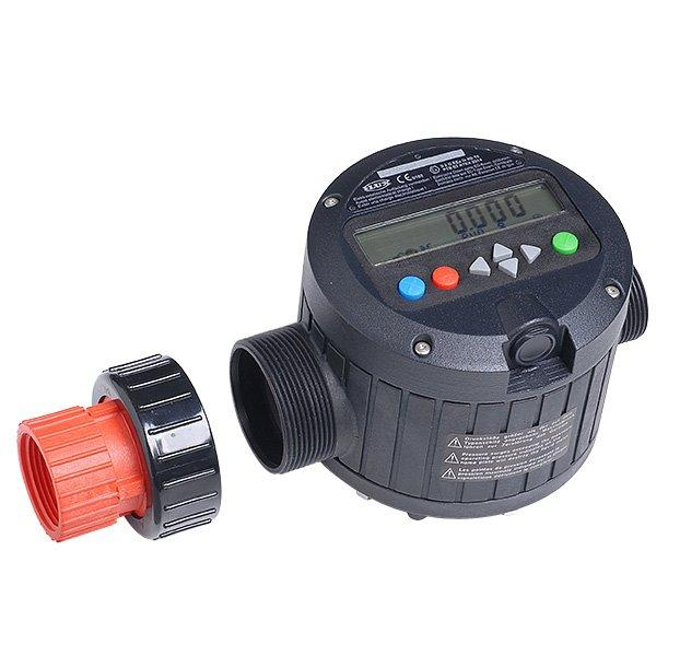 FLUX Flow meter FMJ 100 - For manual filling of various fluids