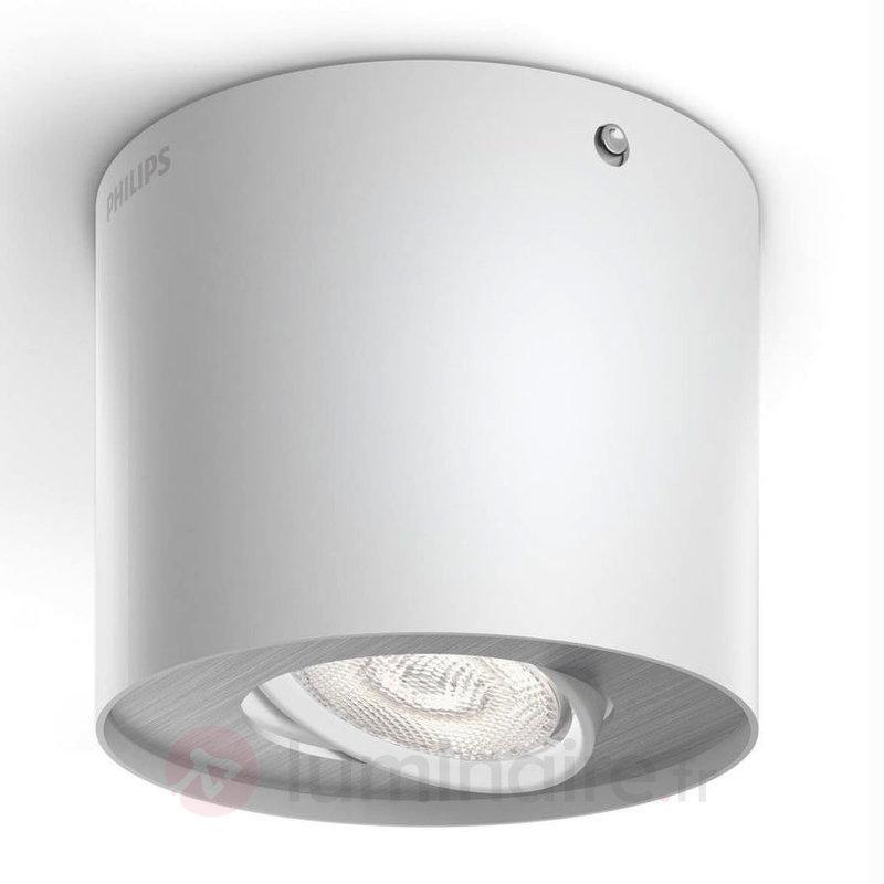 Spot LED Phase, blanc - Plafonniers LED