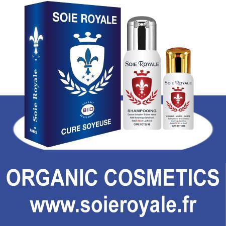 Kit Soie Royale BIO Cure Soyeuse® - Sérum 66 ml et Shampoing Cosmébio® 125 ml