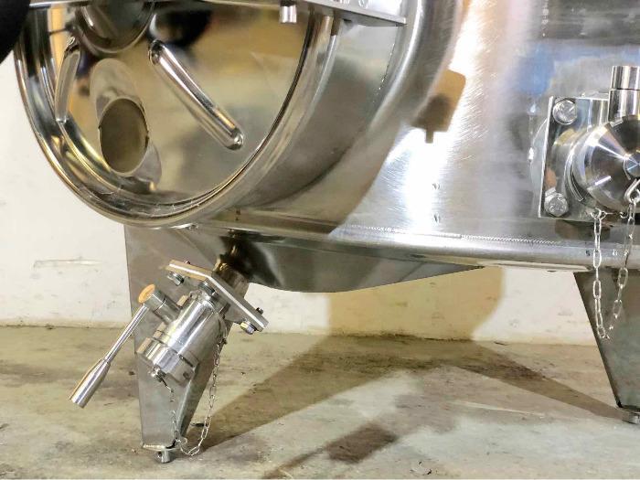 Serbatoio in acciaio 304 - 25 HL - Modello STOBPTR2500
