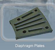 Diaphragm plates - Wear resistant equipment