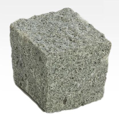 Cubos de granito - Cinza Fino