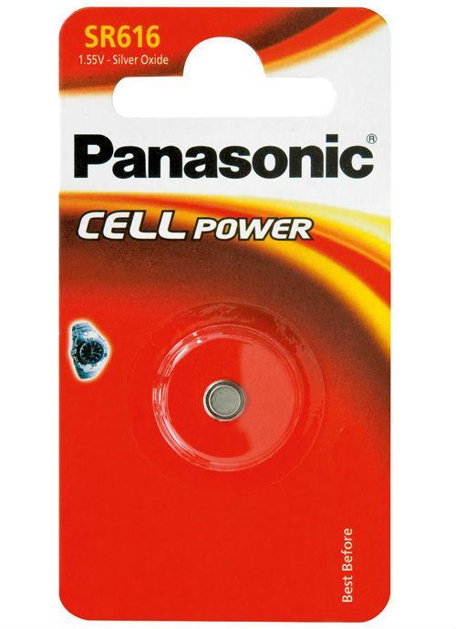 Microbatterie all'ossido d'argento SR616 - SR-616EL/1B | Blister da 1 microbatteria a bottone Panasonic