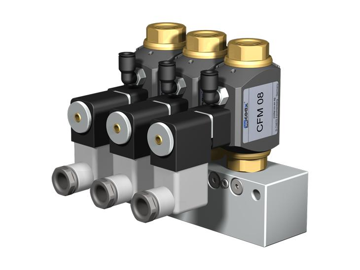 Co-ax Modules And Manifolds Valves - Direct acting or externally controlled valves