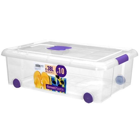 STORAGE BOX WITH WHEELS - Request a catalog by email