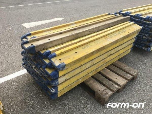 Formwork beam used - Doka H20 top P beams