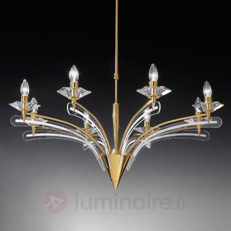 Lustre ICARO avec verre cristal, 100 cm - Lustres designs, de style