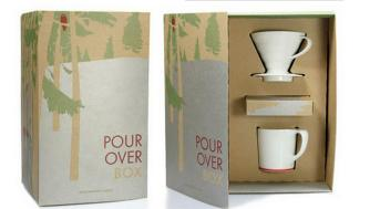 Packaging box for tea set