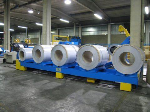 Ultime novità e soluzioni - Impianti per lavorazione laminati in coils