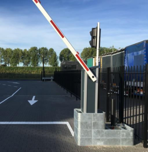 Automatic barriers - Modular barrier for intensive use