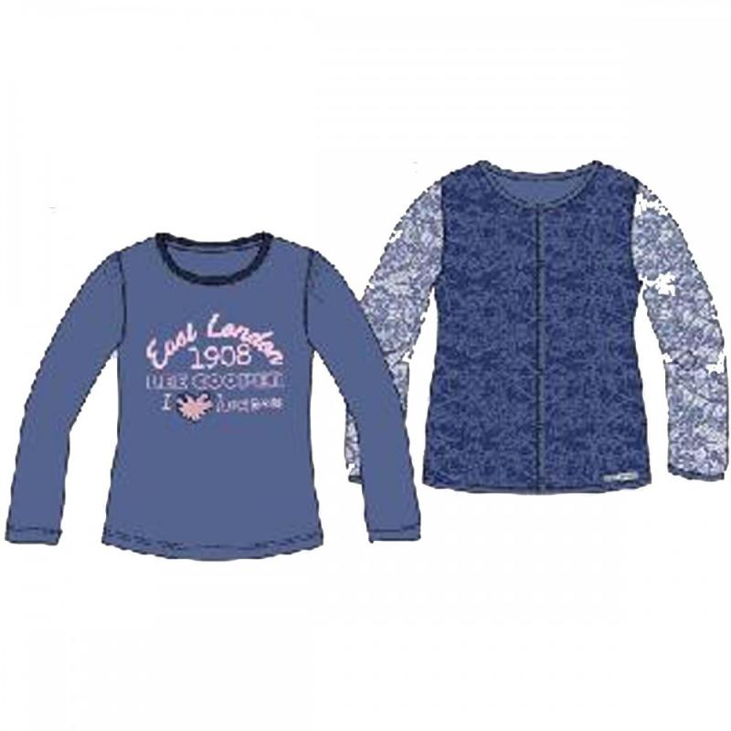8x T-shirts manches longues Lee Cooper du 2 au 5 ans - Ensemble