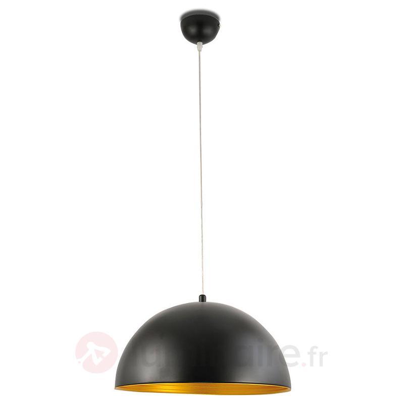 Suspension bicolore Dingle, noir doré - Cuisine et salle à manger