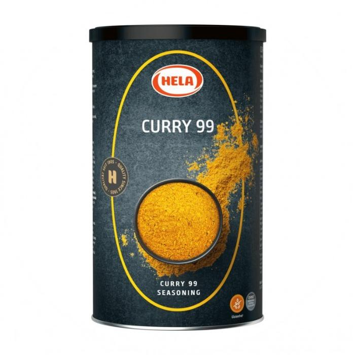Curry 99 Seasoning, 650 g, Gluten free - Curry 99 Seasoning. The scent of ginger, turmeric and cumin. Indian cuisine.