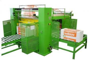 Machines op maat - Vepakkingsmachine DESCO zonder foliekrimp met aanspannen