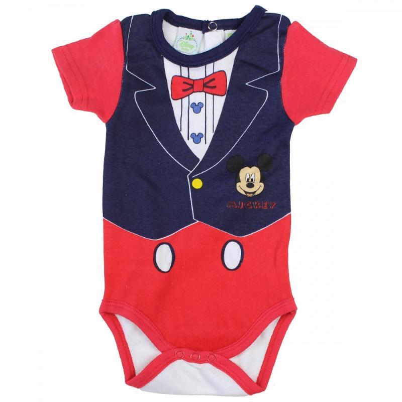 8x Packs de 3 bodys Mickey du 6 au 24 mois - Vêtement été