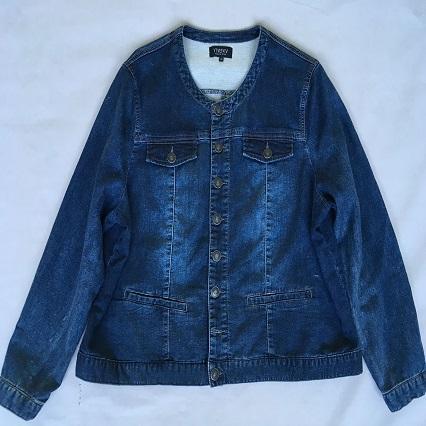 Women's denim wear  Stonewashed blue denim jacket