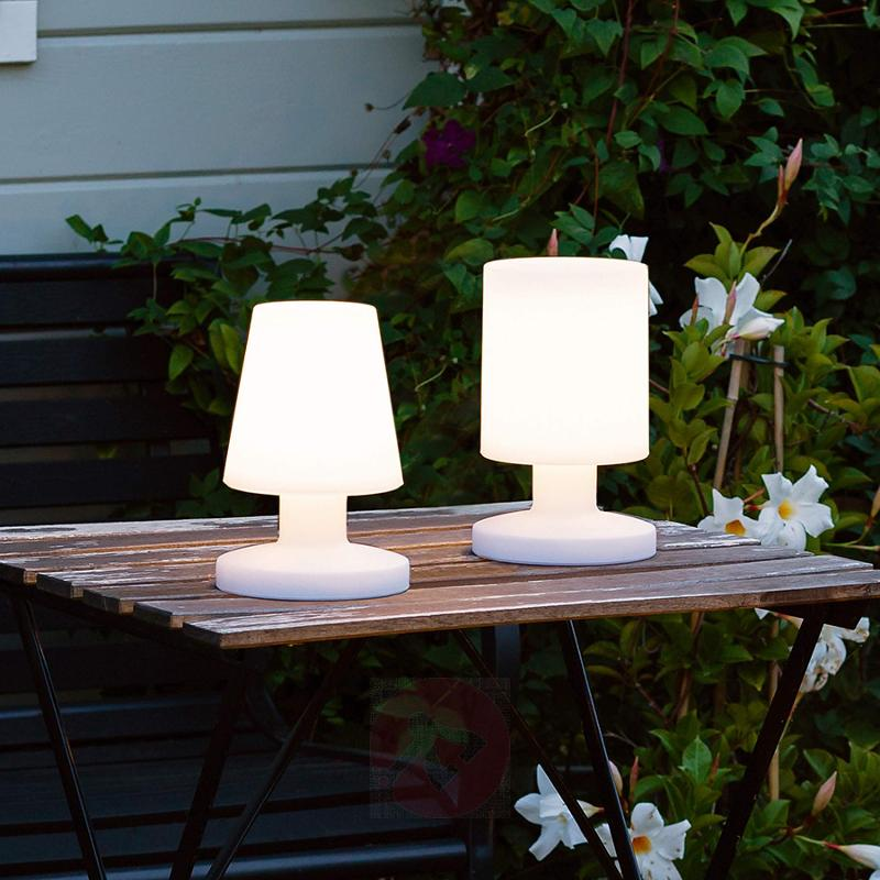 With battery - LED table lamp Lora in white - outdoor-led-lights