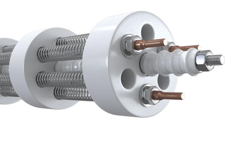 Eléments tuyaux chauffants - Éléments chauffants industriels