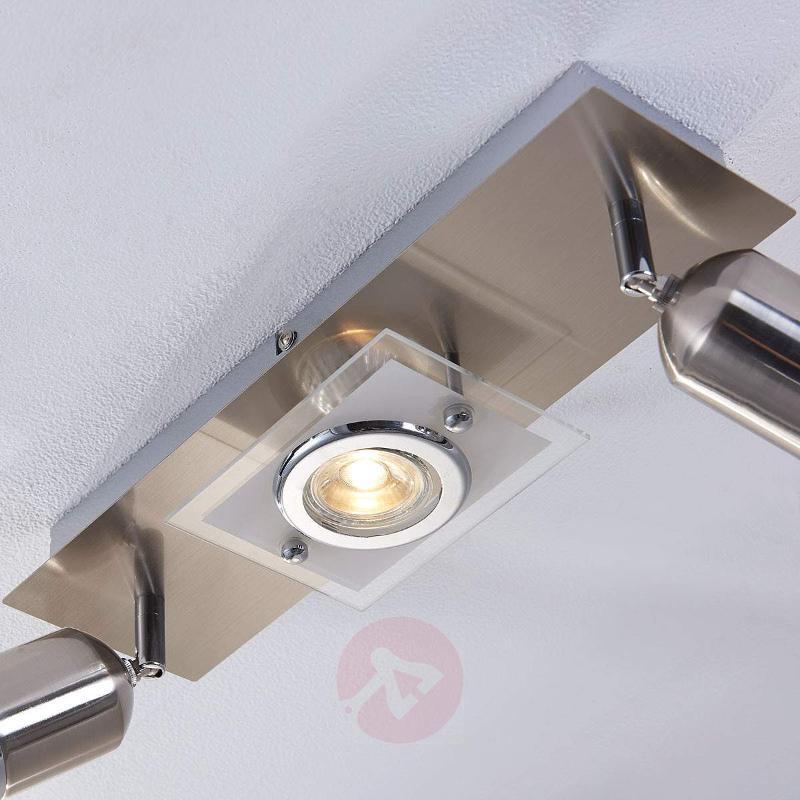 3-Bulb GU10 LED ceiling lamp Fjolla - Ceiling Lights