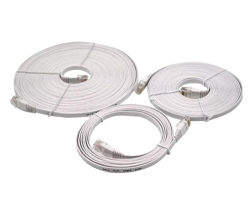 Câble Ethernet plat RJ45 CAT6 - null