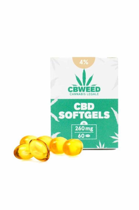 Cbd Capsule Softgel Con Olio Aromatico Al 4% - null