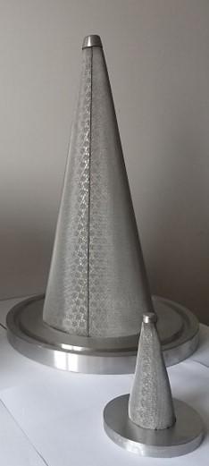 Filtres coniques - Les filtres coniques sont principalement utilisés pour la séparation liquide/sol