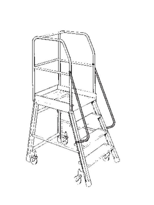 Plateformes roulantes - Plateforme avec rampes (1 accès)
