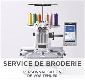 Personnalisation de vêtements professionnels - Service de Broderie à la carte : Devis gratuits sur simple demande