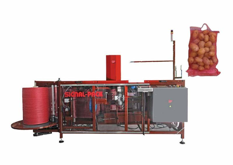 Vertical packaging machine M-25SR - VERTICAL PACKAGING MACHINES FOR VEGETABLES AND FRUIT