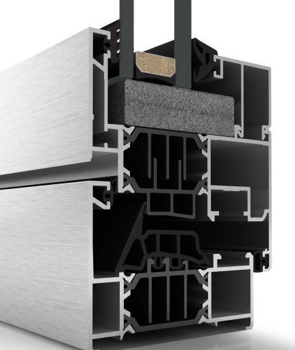 Finestre in alluminio - CORTIZO 70 INDUSTRIAL