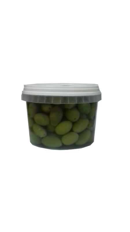 OLIVES VERTES PICHOLINE / GREEN OLIVES PICHOLINE 280G - Produits oléicoles
