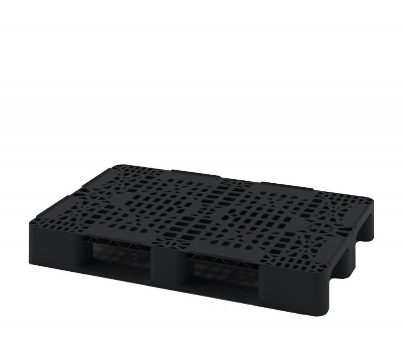 Multipurpose perforated plastic pallet with two... - Art.: 02.105