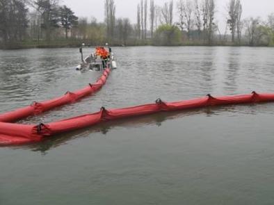 Barrage Flottant Anti Pollution 25 X 55 - BARC 2555R-Barrage flottant antipollution