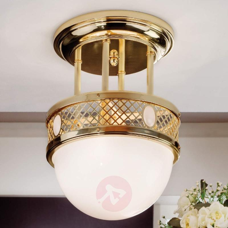 Attractive Old Vienna ceiling Light in brass - Ceiling Lights