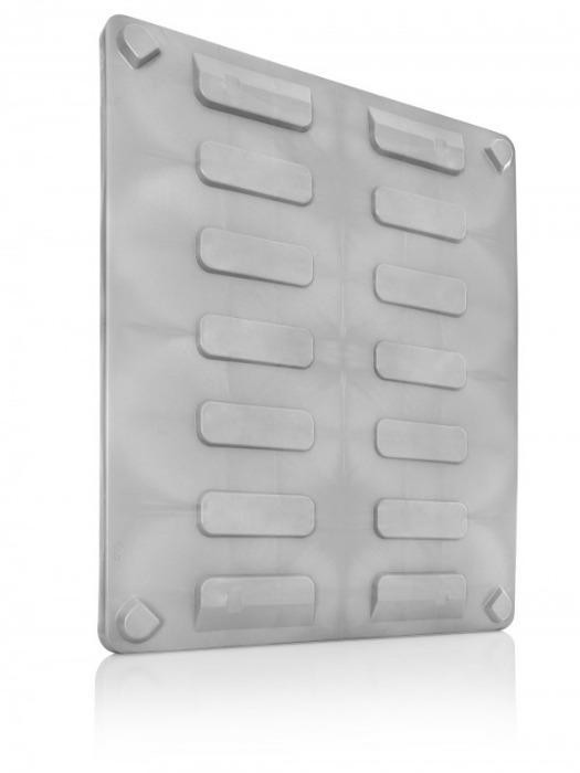 Tapa para palet boxes - Tapa para palet boxes, HDPE, Ranuras de flejado integradas