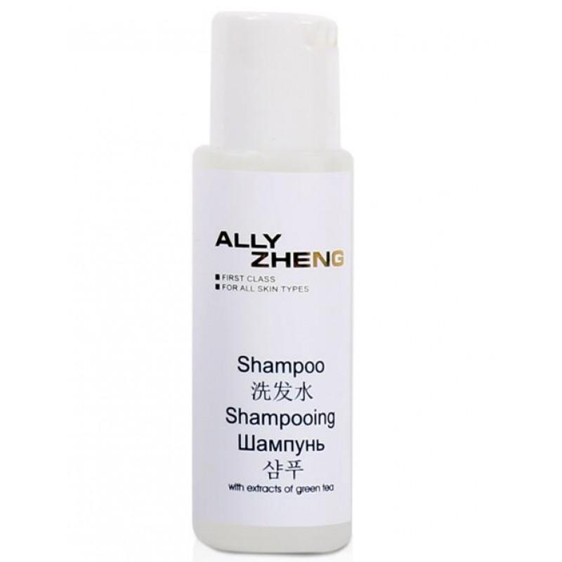 ALLY ZHENG Cobalt Blue Luxury 60ml Shampoo - cylinda PE bottle with press cap