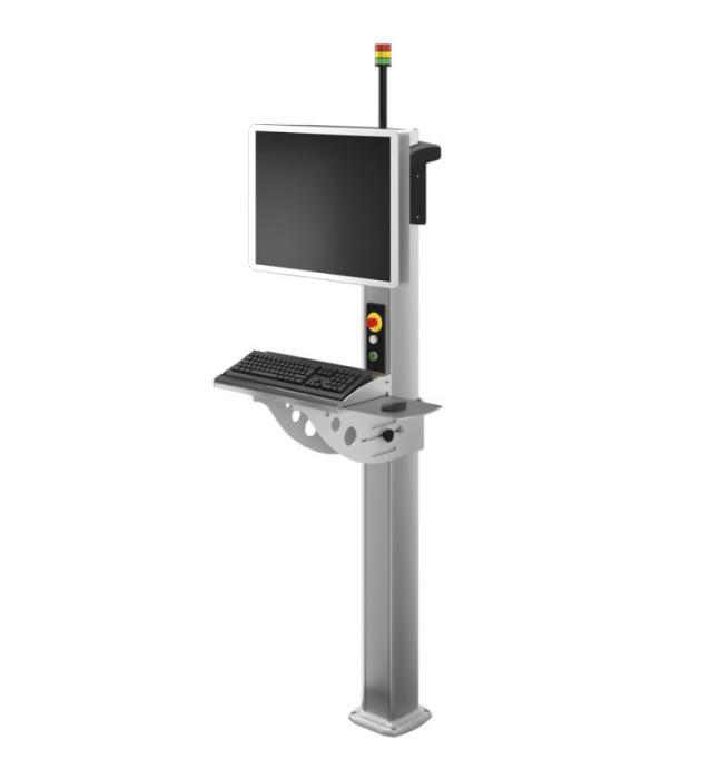 Free-standing column CS-4000 neXt - Suspension system for enclosed IPCs – Unique on the market