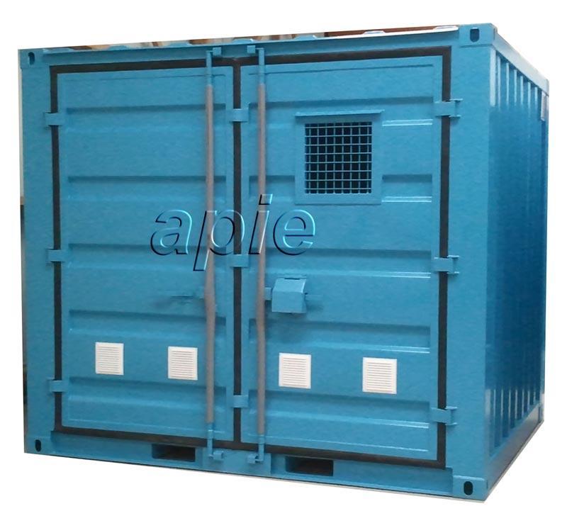 Conteneurs de stockage pour déchetterie - Conteneurs & Entrepôts de stockage en rétention