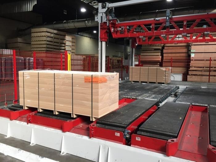 Verpackungslinie / Verpackungsanlage -