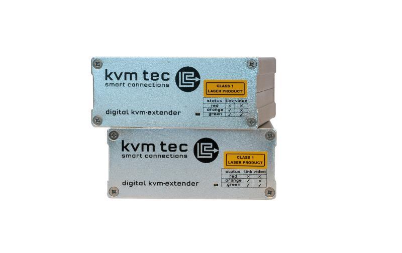 MASTERline single in fiber - MASTERline Full HD KVM Extender over IP
