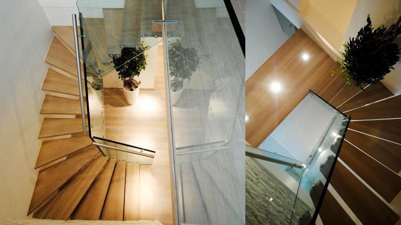 Glass stairs - Mistral