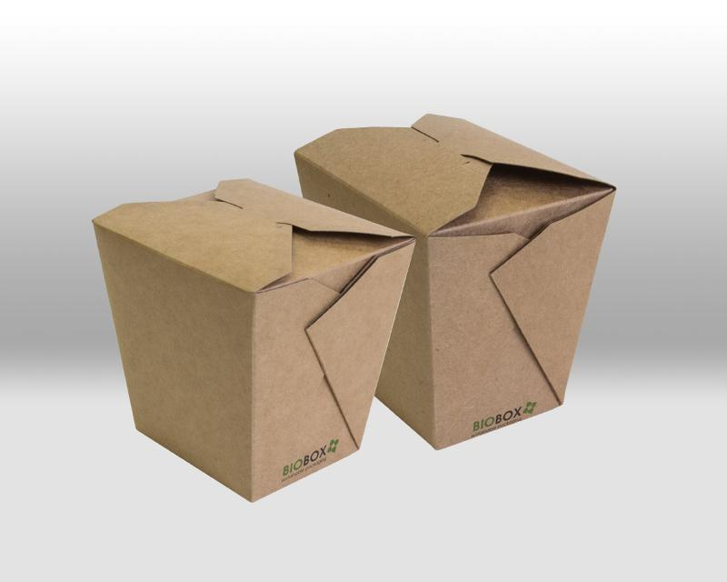 Noodle Boxes Kraft - PACKAGING FOR TAKEAWAY