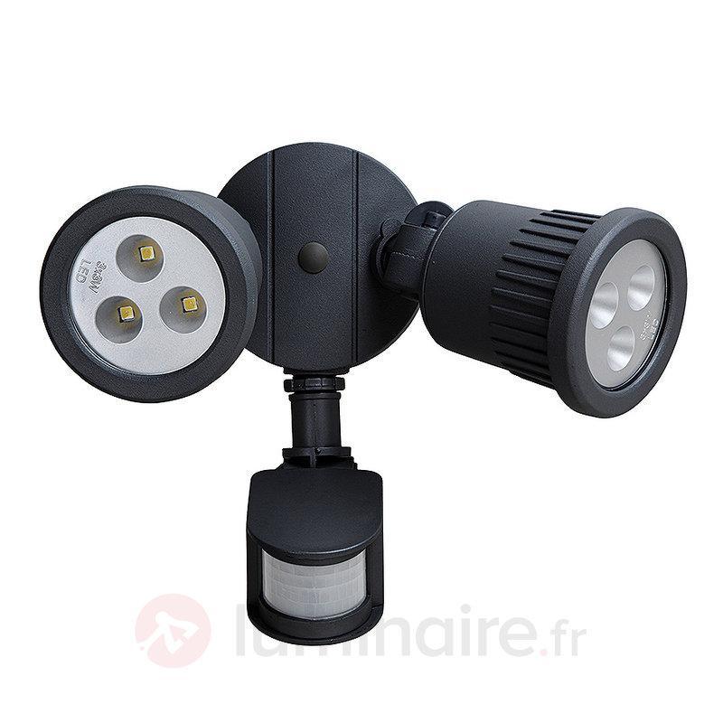 Avec capteur - applique d'extérieur LED Tumbler - Appliques d'extérieur avec détecteur