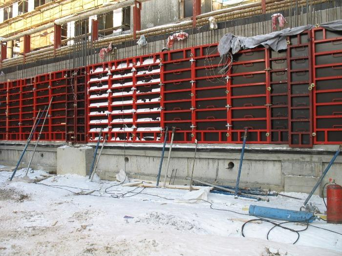 PSK-DELTA formwork system - Universal formwork system for monolithic construction