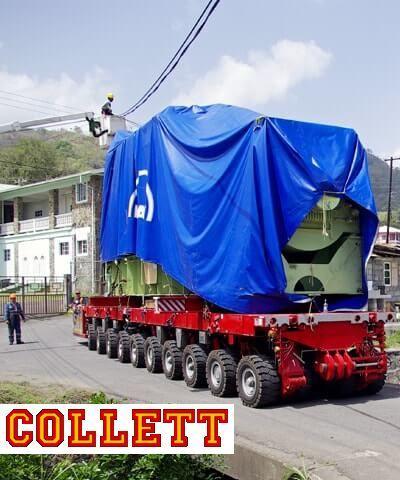 SPMT Transport - Self Propelled Modular Transporters