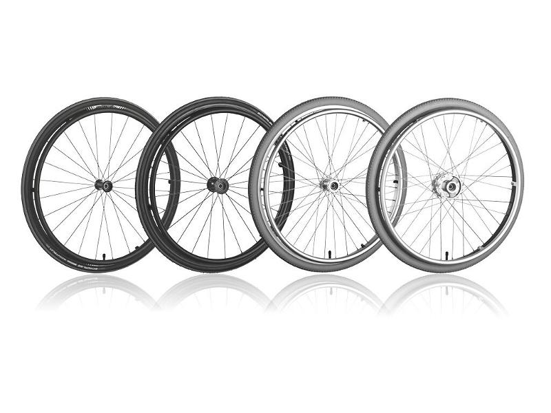 Spoke Wheels - Our spoke wheels for wheelchairs and other rehabilitation equipment