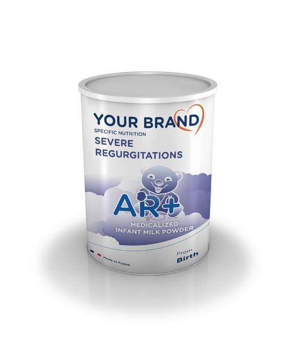 Special infant milk formula - Severe regurgitagions - AR+