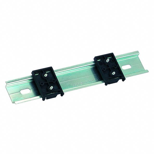 DIN RAIL HOLDER SET OF 2+4SCREWS - Bopla Enclosures TSH 35-2